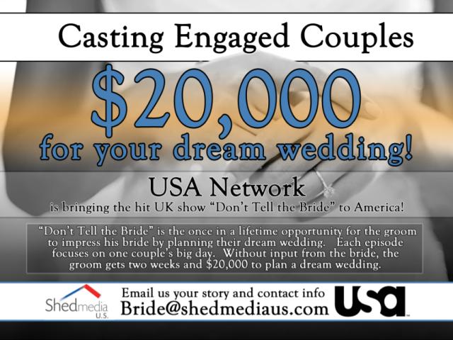 Bride Info Flyer